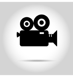 Video camera icon vector image