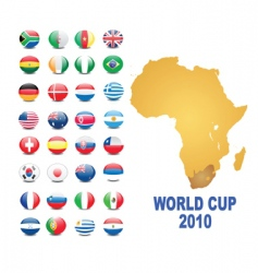 world cup background vector image