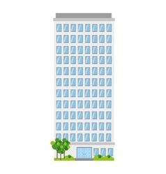 Building business tower vector