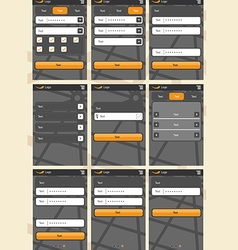 Application template13 vector