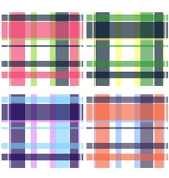 check pattern collection vector image