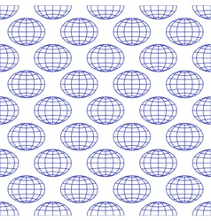Globes background vector
