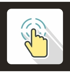 Mouse cursor selection icon flat style vector image vector image