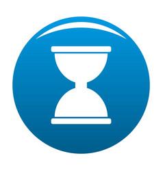 Cursor click loading icon blue vector
