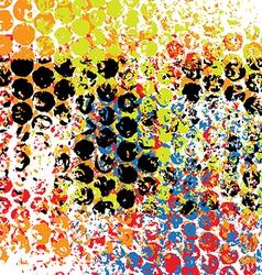 pattern grunge background vector image