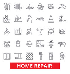 home repair house improvement renovation vector image