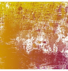 Yellow grungy texture vector
