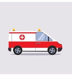 Insurance and ambulance vector