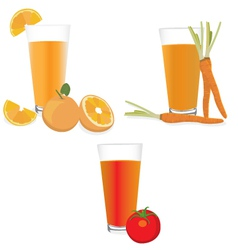 Fresh Juices vector image vector image
