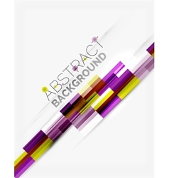 Geometrical design background straight lines on vector image vector image