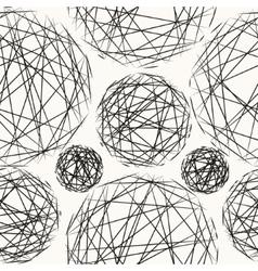 Stylish polka dot texture Seamless pattern vector image