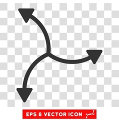 Swirl arrows round eps icon vector