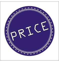 Price icon badge label or sticke vector