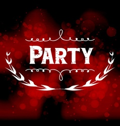 Party light background vector