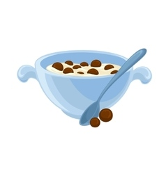 breakfast food vector image