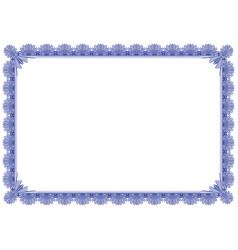 classic border frame editable vector image