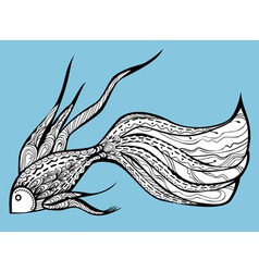 Fancy fish vector