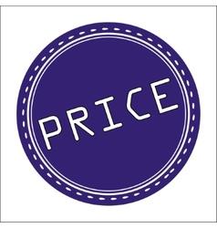 Price Icon Badge Label or Sticke vector image