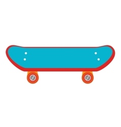 skate sport activity hobby design vector image