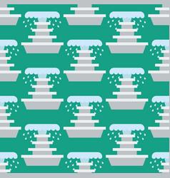Fountain seamless pattern vector