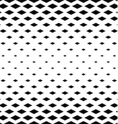 Abstract monochrome rhombus pattern background vector