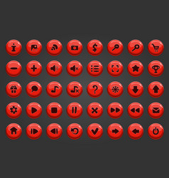 Big set of button vector