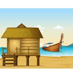 Thailand beach vector image vector image