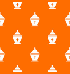 Urn pattern seamless vector