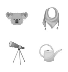 Animals education and other monochrome icon in vector