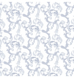 Damask Baroque Pattern vector image