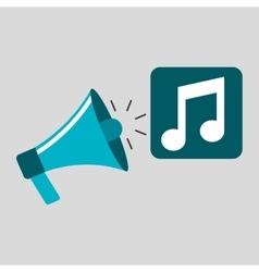 Marketing digital music concept vector