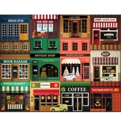 Exteriors icon vector image vector image