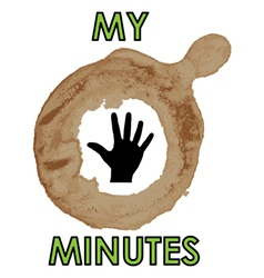 My time vector image vector image