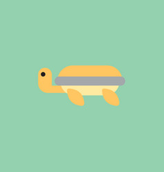 Sea turtle icon vector