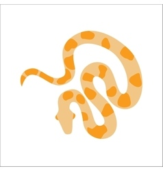 Snake python cartoon vector