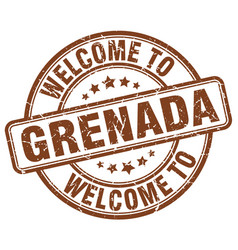 Welcome to grenada vector