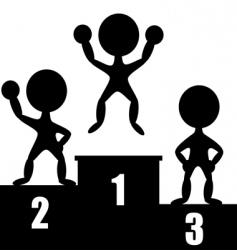 winners vector image