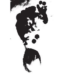 Distress Grunge Texture vector image