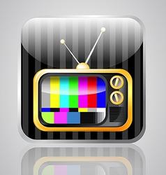 app tv vector image vector image