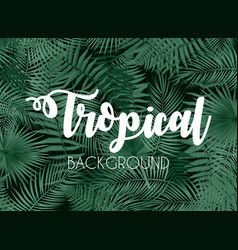 Colorful naturalistic tropical background from the vector