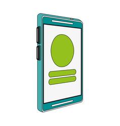 Cellphone icon image vector