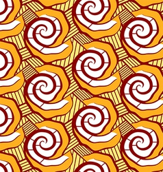 Malian seamless pattern vector image vector image