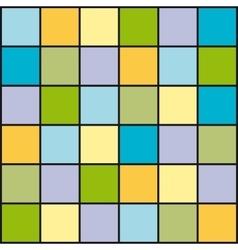 Random Colored Board vector image