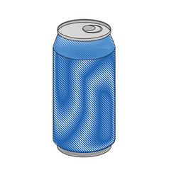 Soft drink can icon vector