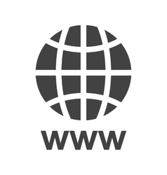 World Wide Web vector image