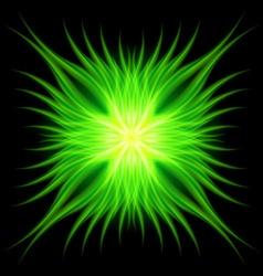 Gotik faire Green 01 vector image