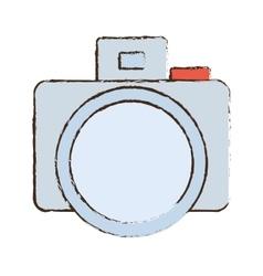photo camera picture image icon sketch vector image