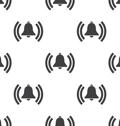 Bell seamless pattern vector