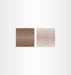 brown pattern background design element vector image