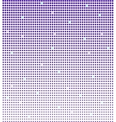 Blue halftone background vector image
